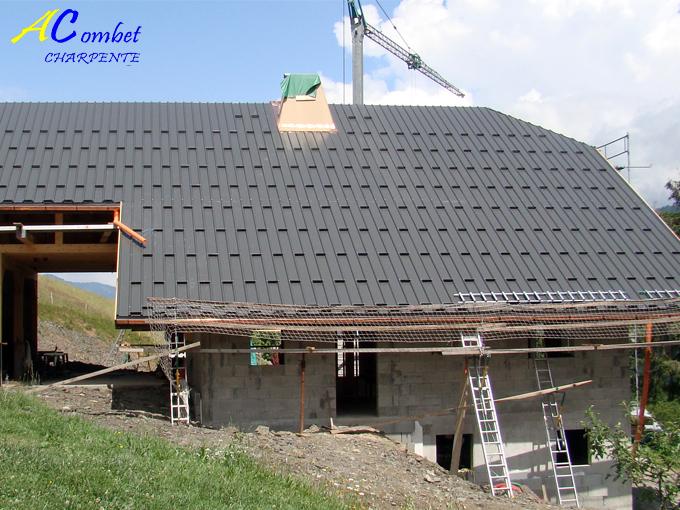 couverture toiture charpentier savoie