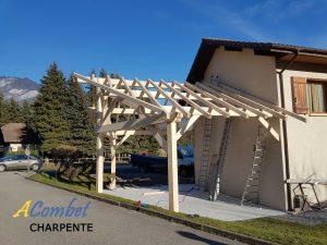 charpente carport savoie