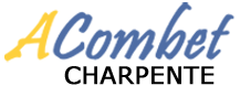 Alain Combet Charpente bois chalet Savoie Logo